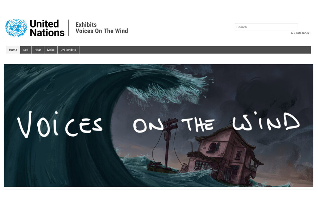 Voices On the Wind Exhibition – Celebrating 70 years of the UNHCR